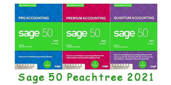 Sage 50 2021 中小企業報稅