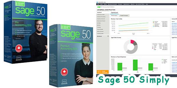 Sage 50 Simply中小企業報稅